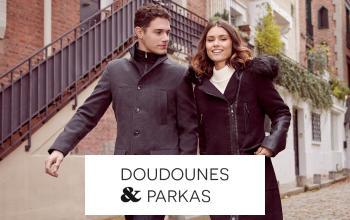 DOUDOUNES & PARKAS à prix discount sur SHOWROOMPRIVÉ