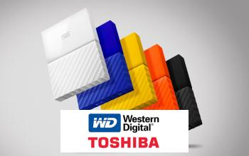 Vente privée TOSHIBA WESTERN DIGITAL sur ShowRoomPrivé