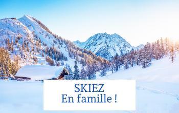Vente privée SKIEZ EN FAMILLE sur ShowRoomPrivé Voyage