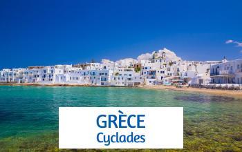 Vente privée GRECE - CYCLADES sur ShowRoomPrivé Voyage