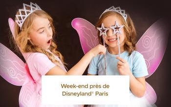Vente privée WEEK-END PRES DISNEYLAND PARIS sur ShowRoomPrivé Voyage