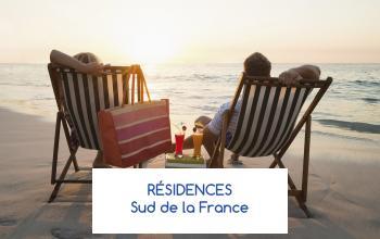 Vente privée RESIDENCES SUD DE LA FRANCE sur ShowRoomPrivé Voyage