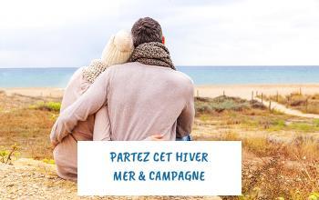 Vente privée PARTEZ CET HIVER - MER  CAMPAGNE sur ShowRoomPrivé Voyage