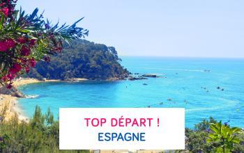Vente privée TOP DEPART ! ESPAGNE sur ShowRoomPrivé Voyage