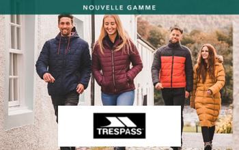 TRESPASS à super prix sur SPORTPURSUIT