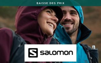 SALOMON à super prix sur SPORTPURSUIT