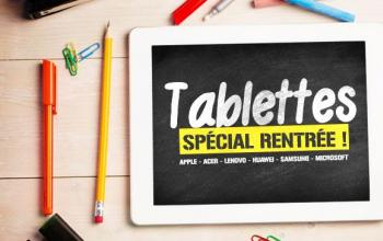 Vente privée TABLETTES - SPECIAL RENTREE ! sur Vente du Diable