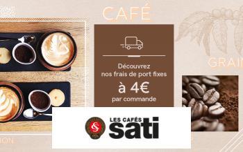 CAFE SATI en vente privée chez VEEPEE