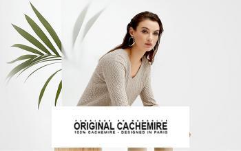 Vente privée ORIGINAL CASHMERE sur Vente-Privee.fr