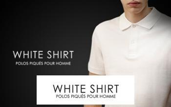 Vente privée ONE DAY WHITE SHIRT sur Vente-Privee.fr