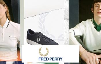 FRED PERRY en soldes sur VEEPEE