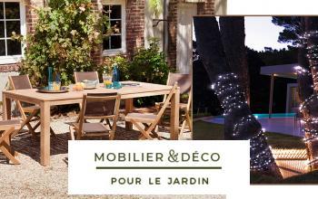 Vente privée MOBILIER ET DECORATION POUR LE JARDIN sur Vente-Privee.fr