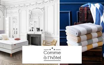 Vente privée COMME A L'HOTEL sur Vente-Privee.fr