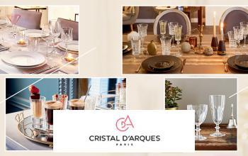 Vente privée CRISTAL D'ARQUES sur Vente-Privee.fr