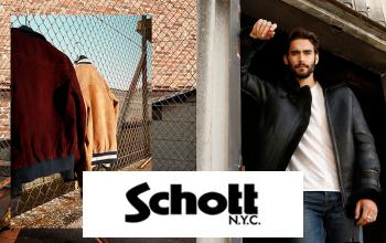 SCHOTT NYC 63% ❤ SCHOTT NYC SWEAT SHIRT à CAPUCHE