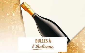 Vente privée BULLES A L'ITALIENNE sur Vente-Privee.fr