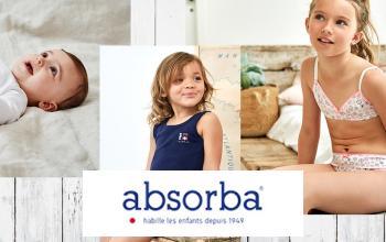 Vente privée ABSORBA sur Vente-Privee.fr