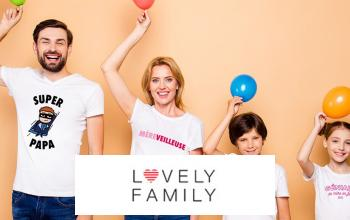 LOVELY FAMILY à super prix sur VEEPEE