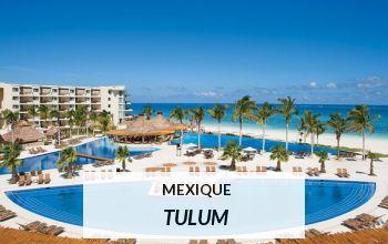 Vente privée MEXIQUE TULUM sur VoyagePrivé