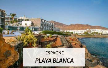Vente privée ESPAGNE PLAYA BLANCA sur VoyagePrivé