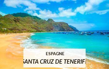 Vente privée ESPAGNE SANTA CRUZ DE TENERIFE sur VoyagePrivé