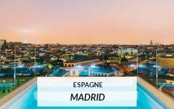 Vente privée ESPAGNE MADRID sur VoyagePrivé