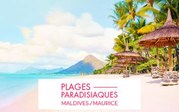 Vente privée MALDIVES ET MAURICE sur Vente-privée Le Voyage