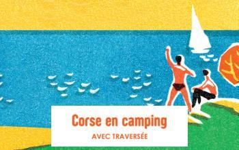 Vente privée LA CORSE EN CAMPING AVEC TRAVERSEE sur Vente-privée Le Voyage