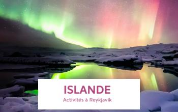 Vente privée REYKJAVIK AVEC ACTIVITES sur Vente-privée Le Voyage
