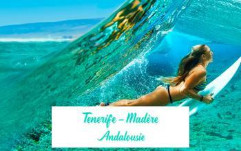 Vente privée MADERE, ANDALOUSIE  TENERIFE sur Vente-privée Le Voyage