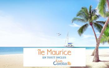 Vente privée CLUBS CORALIA MAURICE sur Vente-privée Le Voyage