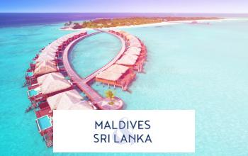 Vente privée SRI LANKA / MALDIVES sur Vente-privée Le Voyage