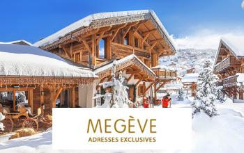Vente privée ADRESSES EXCLUSIVES A MEGEVE sur Vente-privée Le Voyage