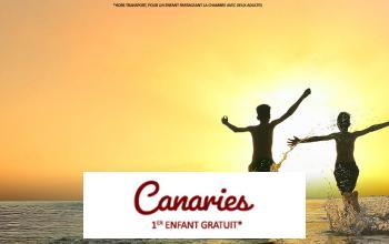 Vente privée CANARIES - HEBERGEMENT OFFERT sur Vente-privée Le Voyage