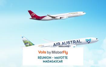 Vente privée MISTERFLY AIR AUSTRAL sur Vente-privée Le Voyage