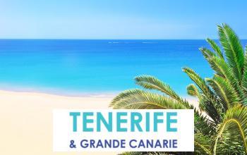 Vente privée TENERIFE  GRANDE CANARIE sur Vente-privée Le Voyage