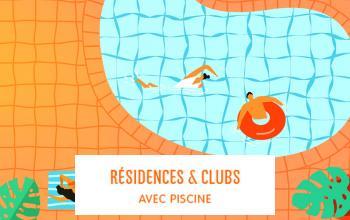 Vente privée RESIDENCES  CLUBS AVEC PISCINE sur Vente-privée Le Voyage