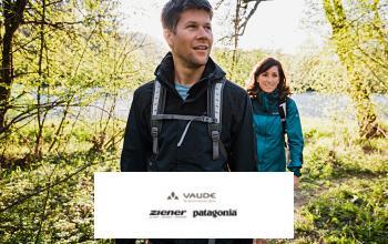 Vente privée VAUDE ZIENER PATAGONIA sur Zalando-Privé